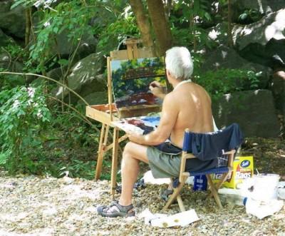art in the park, free speech