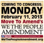 BREAKING NEWS: 'We The People' Amendment to be Introduced to Reverse 'Corporate Personhood'