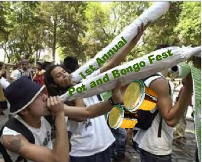 pot and bongo festival