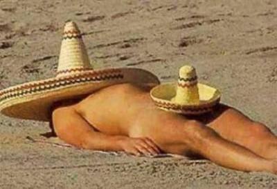 burrito, sombrero