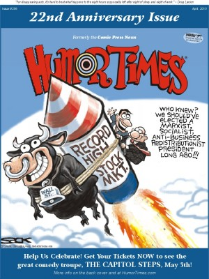 Humor Times anniversary issue subscription special