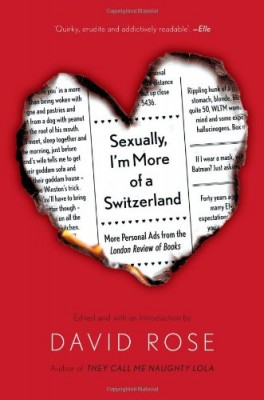 Looking for Love, Sexually, I'm More of a Switzerland