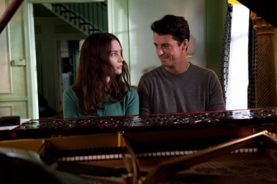 stoker, Matthew Goode and Mia Wasikowska