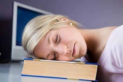 fall asleep reading humor