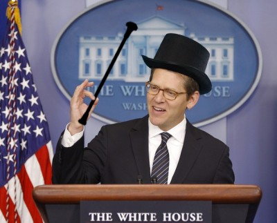 Ringmaster Carney Helps Turn Obama Scandals into Fun for the Whole Family