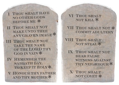 Taliban Version of the Ten Commandments