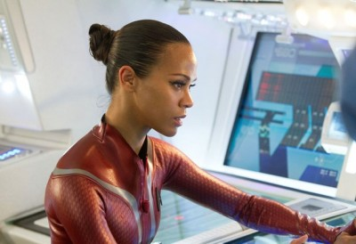 Star Trek: Into Darkness, Zoe Saldana