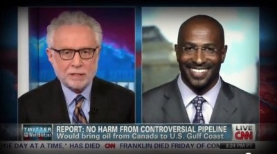 keystone xl, van jones
