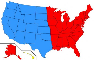 news of the future, u.s. map