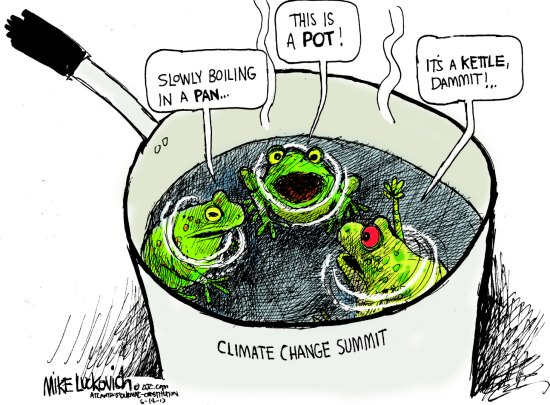 Climate Change: Getting Warmer