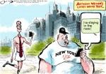 Weiner's Weener: The News, Reported in Cartoon Form