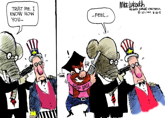 GOP holding pattern