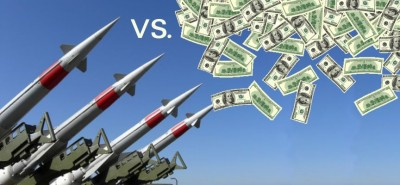 Missiles vs money, syria