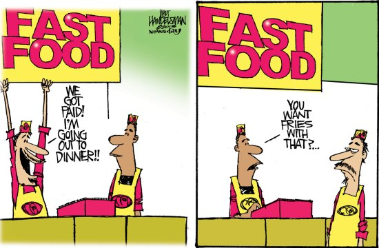 middle class fast food