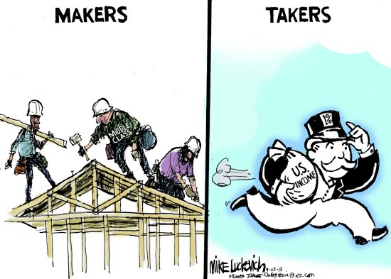 middle class takers