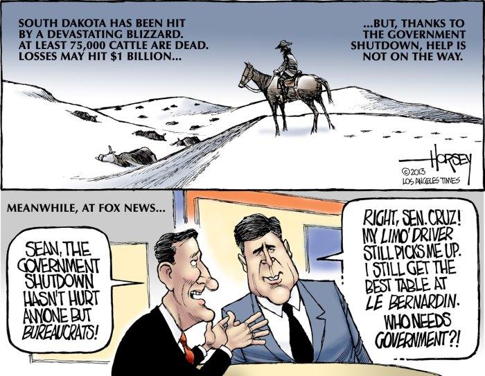 shutdown didn't hurt the rich