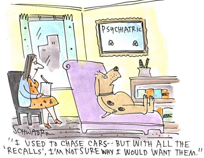 Harley Schwadron cartoon