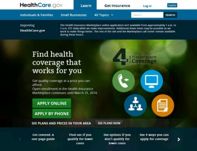 lesson of obamacare, website