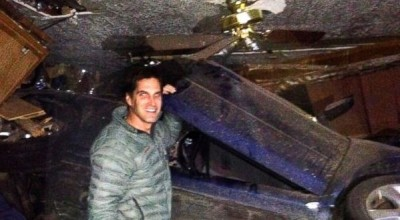Josh Romney car rescue