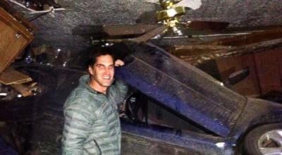 Josh Romney car rescue
