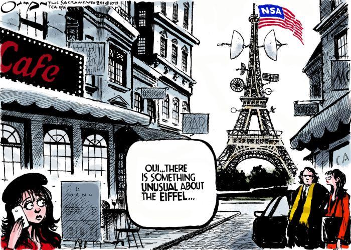 I Spy, a Cartoon Report on NSA Surveillance
