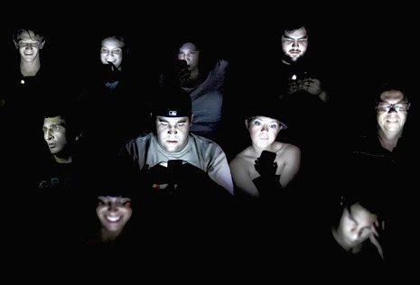 smart phone, theater