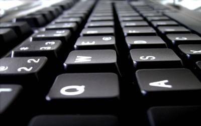 keyboard breaking news headlines