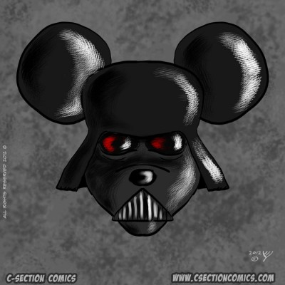 The Mouse, Darth Vader Mickey Mouse