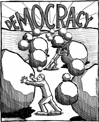 Pro- Democracy Movement needed