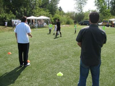 parents, kids soccer