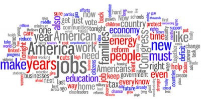 State of the Union word collage