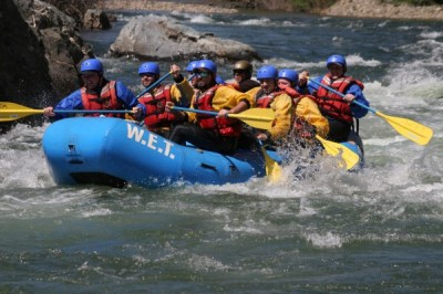 River Rafting Trip with W.E.T.
