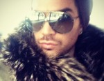 Adam Lambert Likes the Feel of Dead Animal Around His Neck