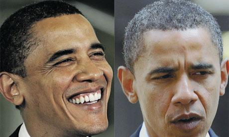 obama grey hair
