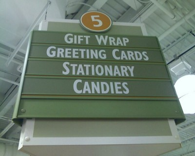 Birthday, Sympathy, Greeting Card Aisle