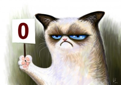 Grumpy cat by Inti Orozco