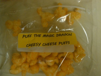 "Pot Dispensary Sells Dragon-Shaped Cheese Puffs as ""Stoner Food"""