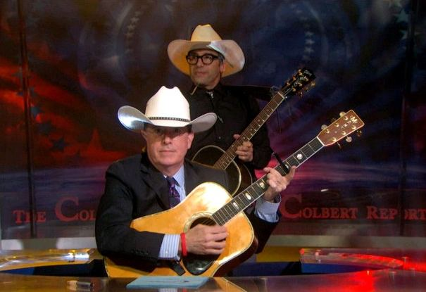 Stephen Colbert, clive bundy song