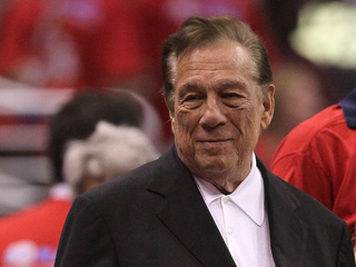 L.A. Clippers owner Donald Sterling