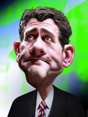Paul Ryan by DonkeyHotey
