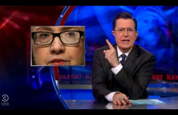 Colbert, Karl Rove, Hillary Clinton