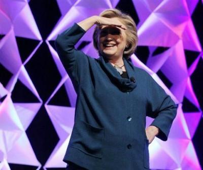 Hillary clinton shoe