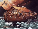 How Well We Know the Bible, or Noah of Ark, as Vaguely Remembered by a Typical American