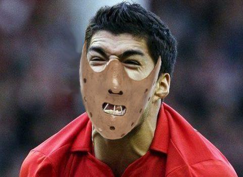 Luis Suarez, Hannibal Lecter mask