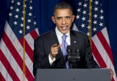 obama responds to ISIS tweet