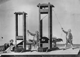 guillotine, Lethal Injections