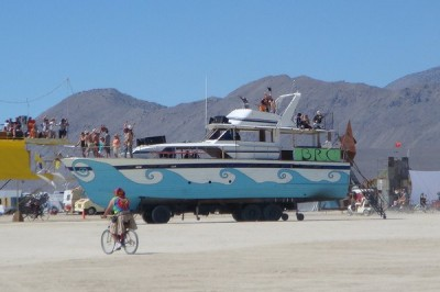 burning man yacht