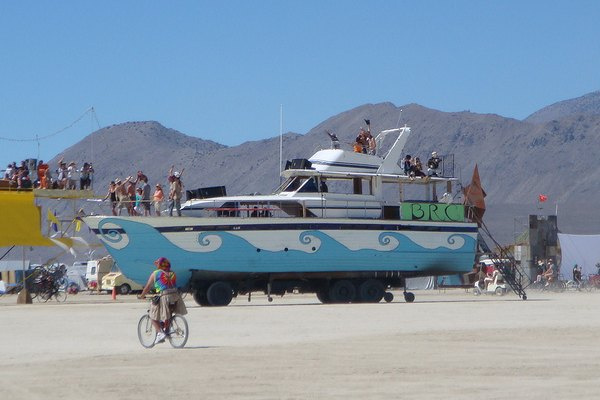 Rich Folk Experience Burning Man Just Like the 'Little People'
