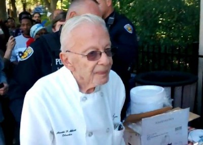 Feeding the Homeless, Arnold Abbott