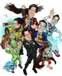 Stephen Colbert: Comic Book Hero?